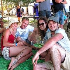 Me, James, Marike & Henry