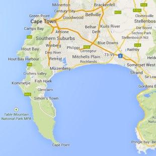 map of peninsula