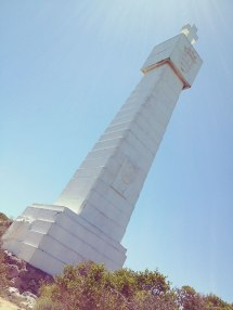 the vasco da gama cross at cape point
