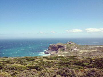 scenery at cape point