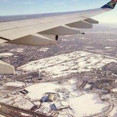 ...hello snowy new york!