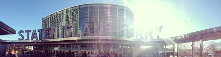 entrance to staten island ferry