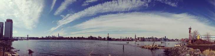 the famous new york skyline