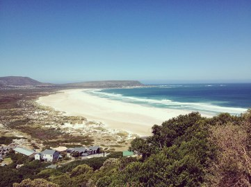 the long, wide stretch that is noordhoek beach