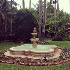 fountains...